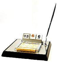 Офисный настольный набор с календарем-Аскет SS08051