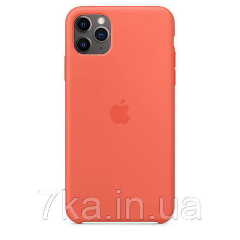 Силиконовый чехол Silicone Case ( High Copy)  для iPhone 11 Pro Max Orange, фото 2