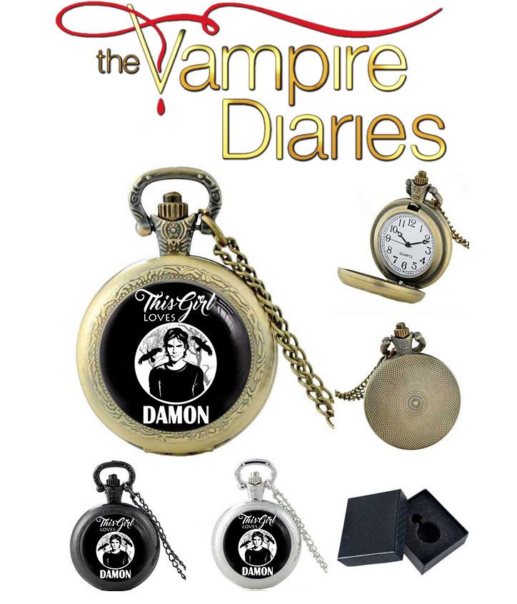 Карманные часы Дэймон Дневники вампира / The Vampire Diaries