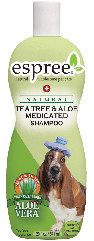 Шампунь Espree Tea Tree & Aloe Shampoo с маслом чайного дерева для собак 355 мл
