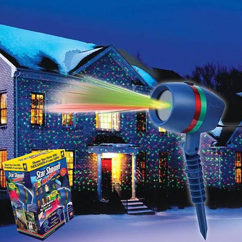Уличный лазерный проектор Star Shower Звездное небо, фото 1