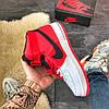 Nike Air Force High Black Red, фото 3