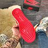 Nike Air Force High Black Red, фото 4