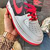 Nike Air Force High Black Red, фото 5