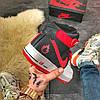 Nike Air Force High Black Red, фото 6