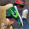 Nike Air Jordan 1 High Green, фото 3