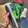 Nike Air Jordan 1 High Green, фото 6