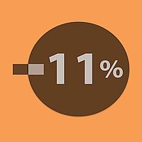 Знижка 11% на все
