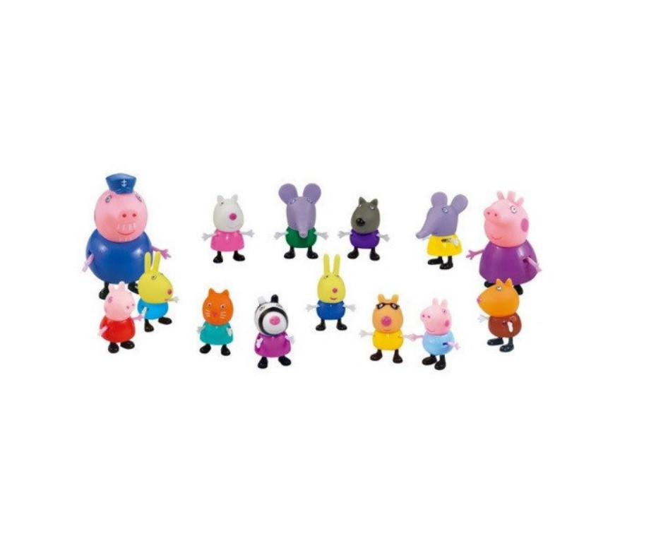 Свинка Пеппа Peppa Pig Family and friends