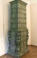 Печь с нимфами (комплект)