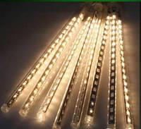 """Світлодіодна гірлянда """"Крапля"""" super LED 50см (тане бурулька), синя, біла, біла тепла, мікс, фото 1"""