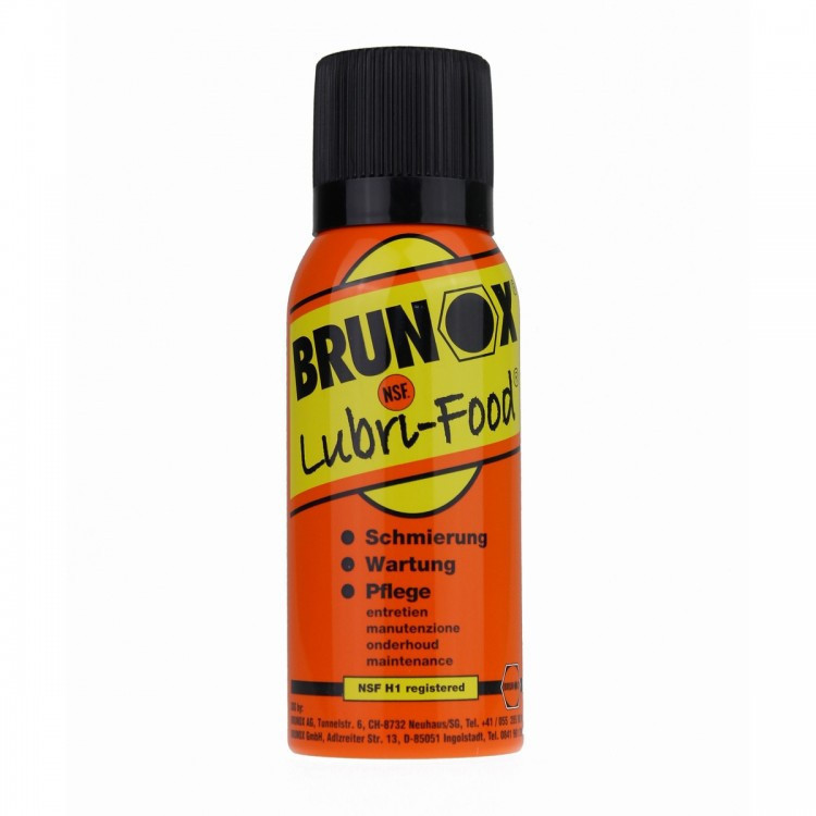Масло универсальное, спрей, 120ml Brunox Lubri Food