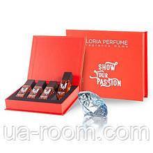 Набор женских мини-парфюмов Gloria Perfume SCENT COMES FİRST 4*15 ML (217-220-225-227)