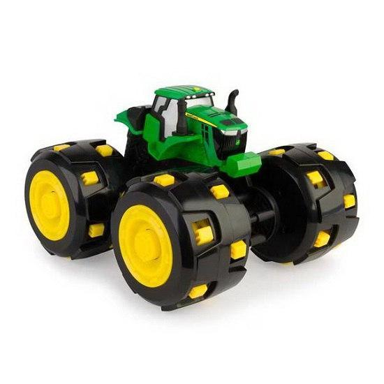 John Deere Трактор Monster Treads с большими шипованными колесамиTOMY