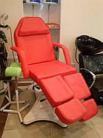 Кресло - кушетка косметологическая для косметолога, клиента педикюра, мастера тату Zd 823A