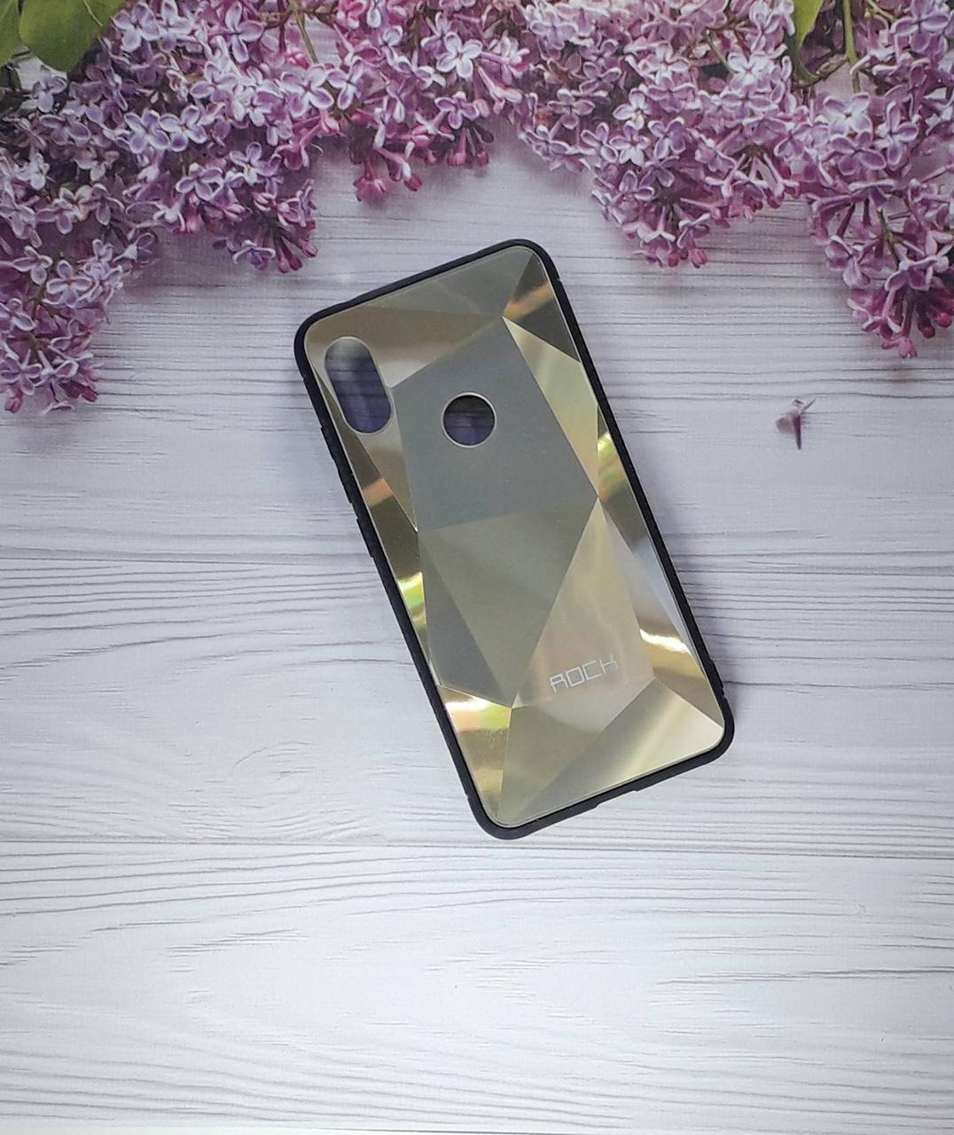 Чехол накладка Rock Case на XIAOMI Note 6 pro, Gold