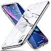 Чехол ESR для iPhone XR Mimic Marble Tempered Glass, White Sierra (4894240066942)