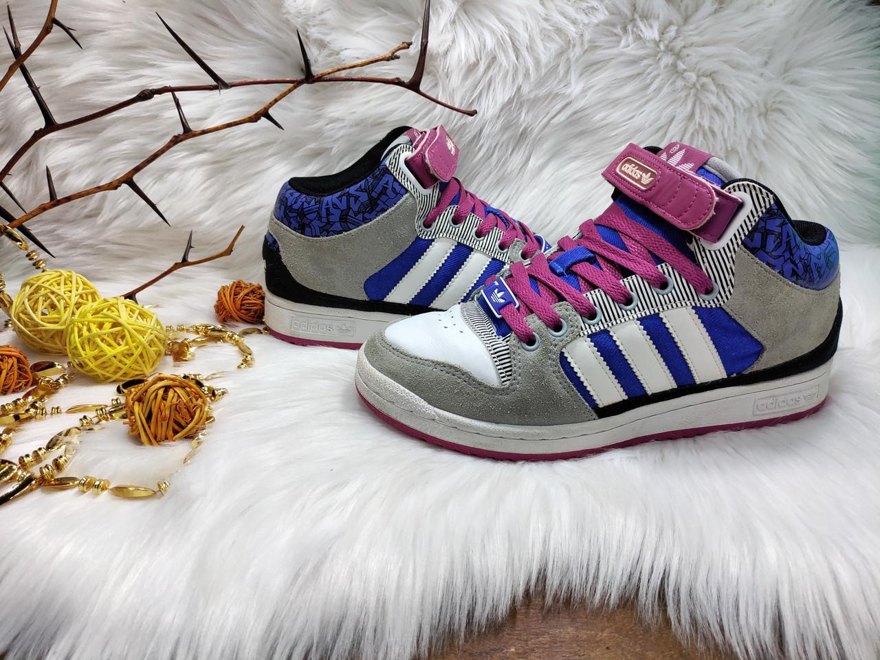 Женские кроссовки Adidas DECADE MID (38.5 размер) бу