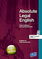 Книга Absolute Legal English Helen Callanan, Lynda Edwards(+Audio CD). Серия книг Delta Publishing