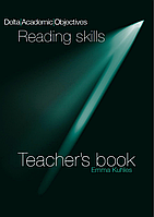 Книга Delta Publishing Delta Academic Objectives Reading skills Louis Rogers&Michael Thompson (Teacher`s Book + Audio CD)