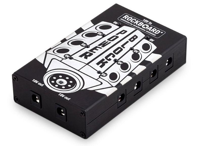 Блок живлення для гітарних педалей ROCKBOARD RBO POWER BLOCK Multi-Power Supply