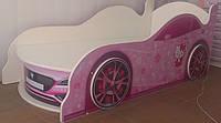 Кровать машина с подсветкой фар  Спорт 6