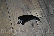 Рог черный - декоративный пластиковый элемент для декора техники, шлема и т.д.