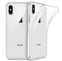 Силиконовый чехол для iPhone XS Max (Прозрачный) (000001924)