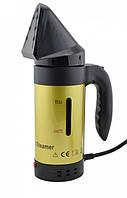 ✅ Ручний відпарювач, колір – Золотистий, вертикальний відпарювач, парогенератор