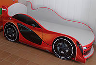 Ліжко машина з підсвічуванням фар Спорт 7