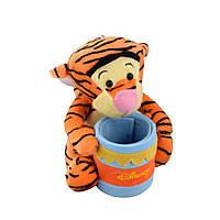 М'яка іграшка підставка стаканчик 7,5х6,5х6,5 см Тигра 17 см на присосці (41202.003)