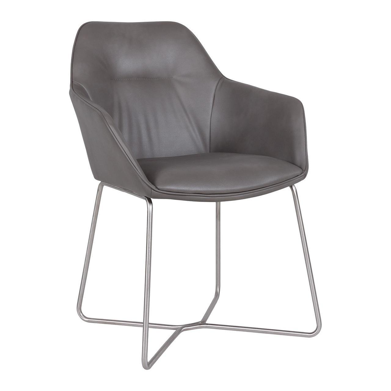 Кресло Laredo (Ларедо) серый кожзам от Niсolas