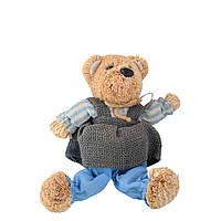 Інтер'єрна іграшка ведмедик солом'яний 28 см 17х18х13 см (41206.003)