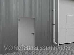 Дверь техническая DoorHan ширина 1080мм высота 2050мм одностворчатая глухая