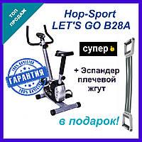 Велотренажер Lets Go B28A. Нагрузка 8 уровней магнитная система нагрузки. Домашние велотренажеры