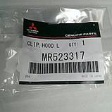 Кліпса кріплення опори капота MMC - MR523317, фото 2