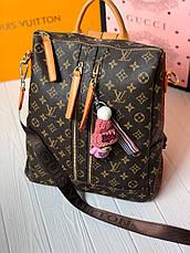 Женский стильный рюкзак-сумка Louis Vuitton, фото 3
