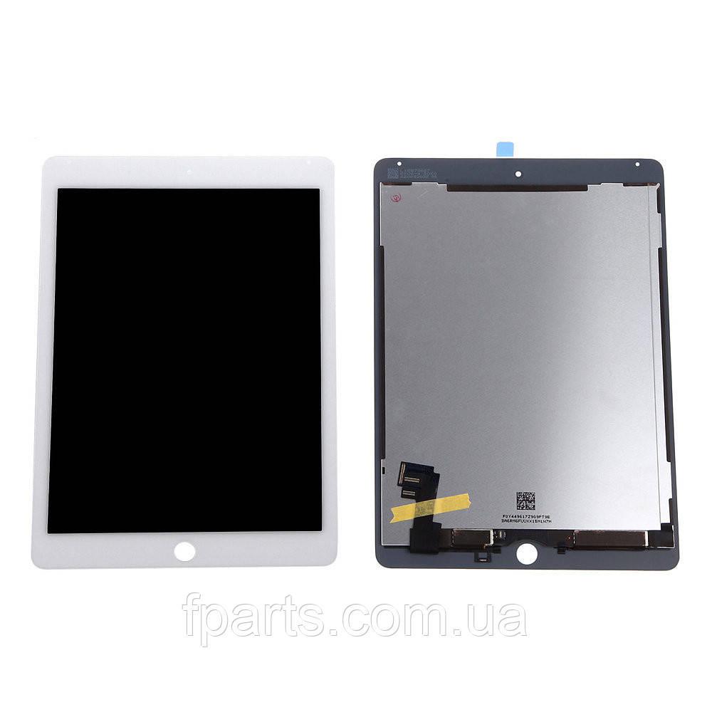 Дисплей iPad Air 2 (A1566, A1567) с тачскрином, White (Original PRC)