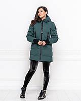 Женская зимняя куртка холлофайбер