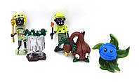 Зомби против растений - Фигурки 5 штук