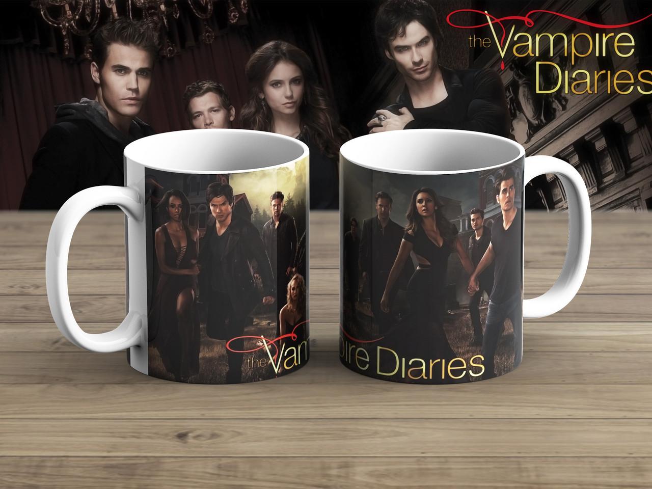 Чашка финал Дневники вампира / The Vampire Diaries