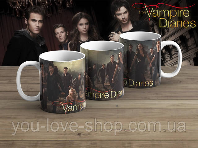 Чашка Дневники вампира / The Vampire Diaries