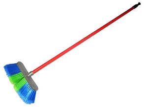 Щетка для мытья машины 20люкс (8 рядов)с ручкой 100см (компл.)
