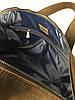 Дорожная сумка кожаная S-62 Dizar Сумка спортивная кожа крейзи коричневая, фото 3