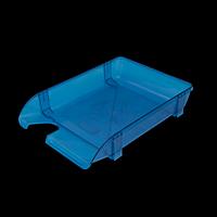 Лоток пластиковий горизонтальний, блакитний