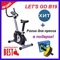 Велотренажер Lets Go В19. Нагрузка 8 уровней магнитная система нагрузки. Домашние велотренажеры
