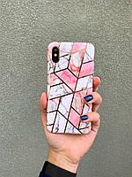 Чехол на АЙФОН iPhone 7/8 7 Plus/8 Plus X/Xs Xs Max   накладка Бампер на Айфон, Силикон / чохол