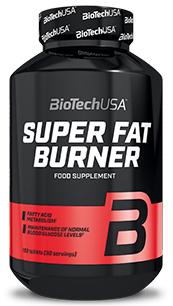 Жіросжігателя BioTech - Super Fat Burner (120 таблеток)