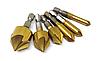 Набор зенковочных свёрл 6 мм-19 мм с шестигранным хвостовиком 1/4 , фото 2