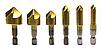 Набор зенковочных свёрл 6 мм-19 мм с шестигранным хвостовиком 1/4 , фото 4